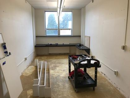 Matt's new office, 2017