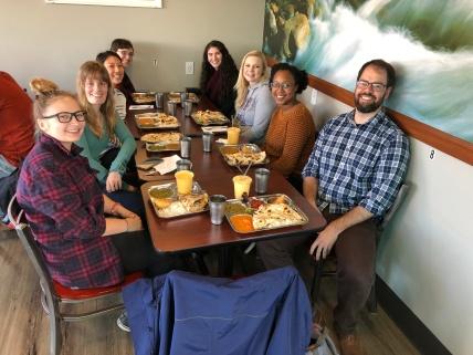 Lab lunch fall 2018